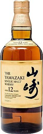 Whisky Suntory Yamazaki 12 Años Estuchado, Botella de 70 cl. + Estuche
