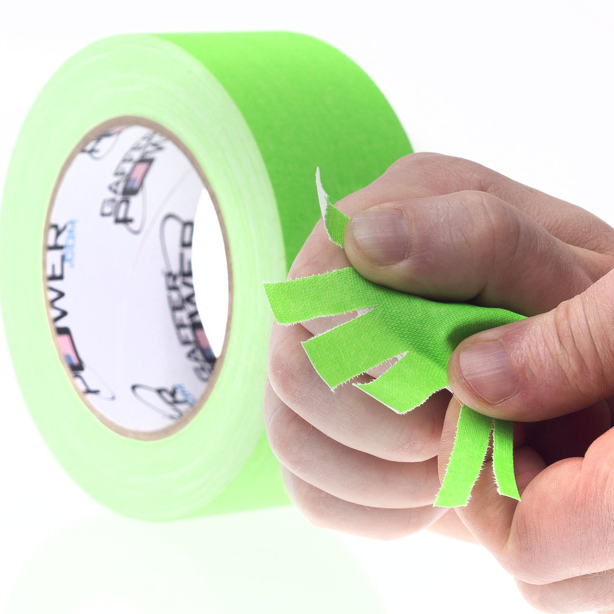 ce0fe2f8c4 REAL Professional Grade Gaffer Tape by Gaffer Power - Made in the USA    GREEN FLUORESCENT 2 In X 30 Yds - Heavy Duty Gaffers Tape - Non-Reflective  ...