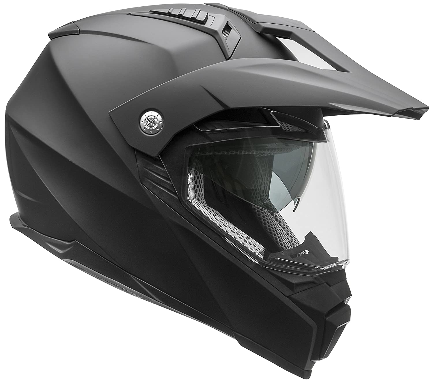 ega Helmets Cross Tour 2 Dual Sport Helmet with Internal Sun Visor – Full Face Motorcycle Helmet for Motocross ATV MX Enduro Quad