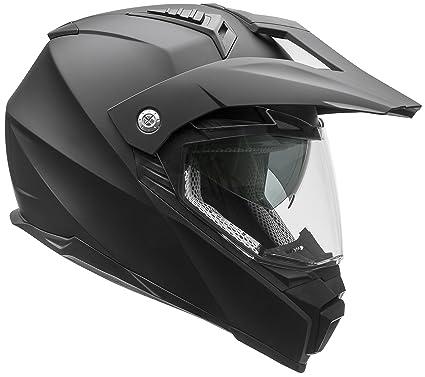840d34da Vega Helmets Cross Tour 2 Dual Sport Helmet with Internal Sun Visor – Full  Face Motorcycle
