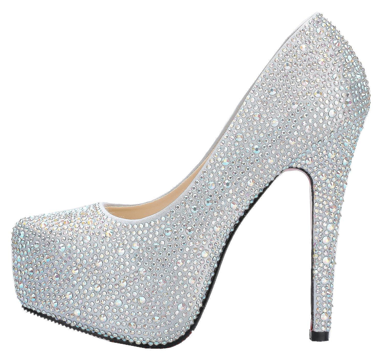 Fabulous Sparkling 4.5 Zentimeter-Absatz-Plattform - Hochzeit Schuhe - Zentimeter-Absatz-Plattform SHO168836-4.5 a15cbc