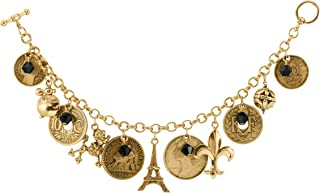 product image for French Coin Charm Bracelet