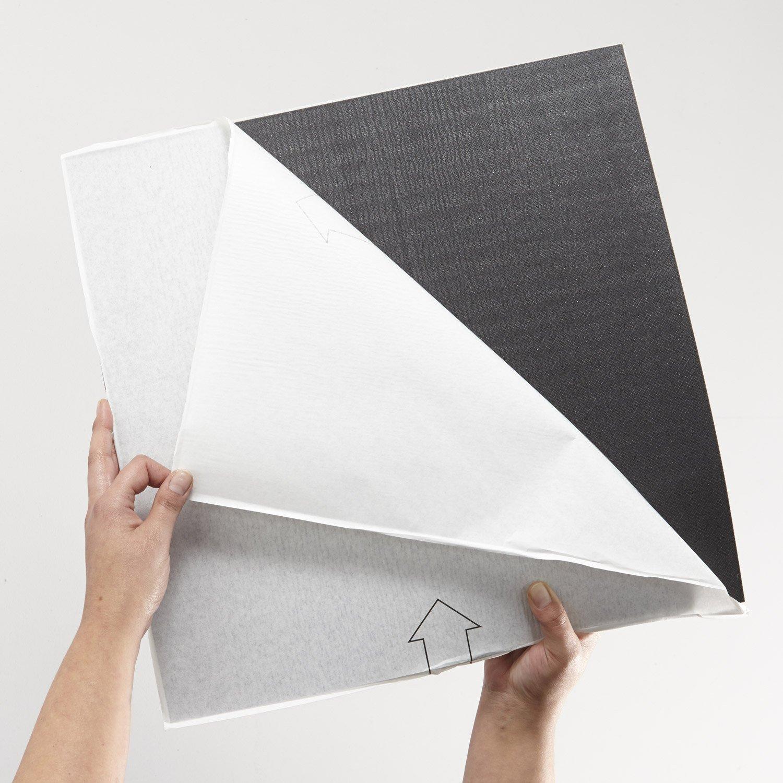Selbstklebende fliesen  Gerflor selbstklebende Vinyl-Fliesen - Union Dark 0638 Vinyl ...