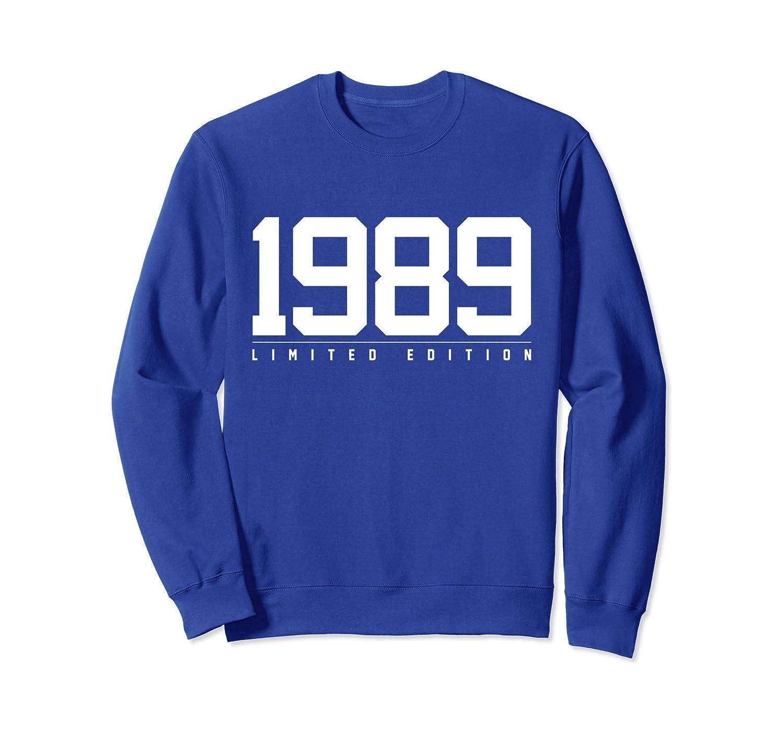 1989 Limited Edition 29th Birthday Gift Jersey Sweatshirt-TH