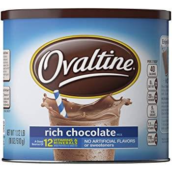 NESTLE OVALTINE Chocolate Rich Chocolate Mix
