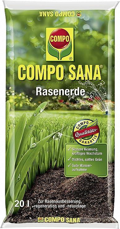 Compo Sana – Césped Tierra 20L: Amazon.es: Jardín