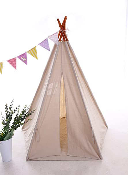 Best Teepee Tent for Kids with Window u0026 Floor Including Style Matching Accessories u0026 Carrying  sc 1 st  Amazon.com & Amazon.com: Best Teepee Tent for Kids with Window u0026 Floor Including ...