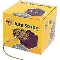 MARBIG(R) 845801 Jute String 80M Jute 80M Brown