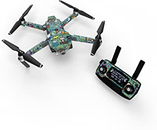 product image for Jewel Thief Decal for Drone DJI Mavic Pro Kit - Includes Drone Skin, Controller Skin and 3 Battery Skins
