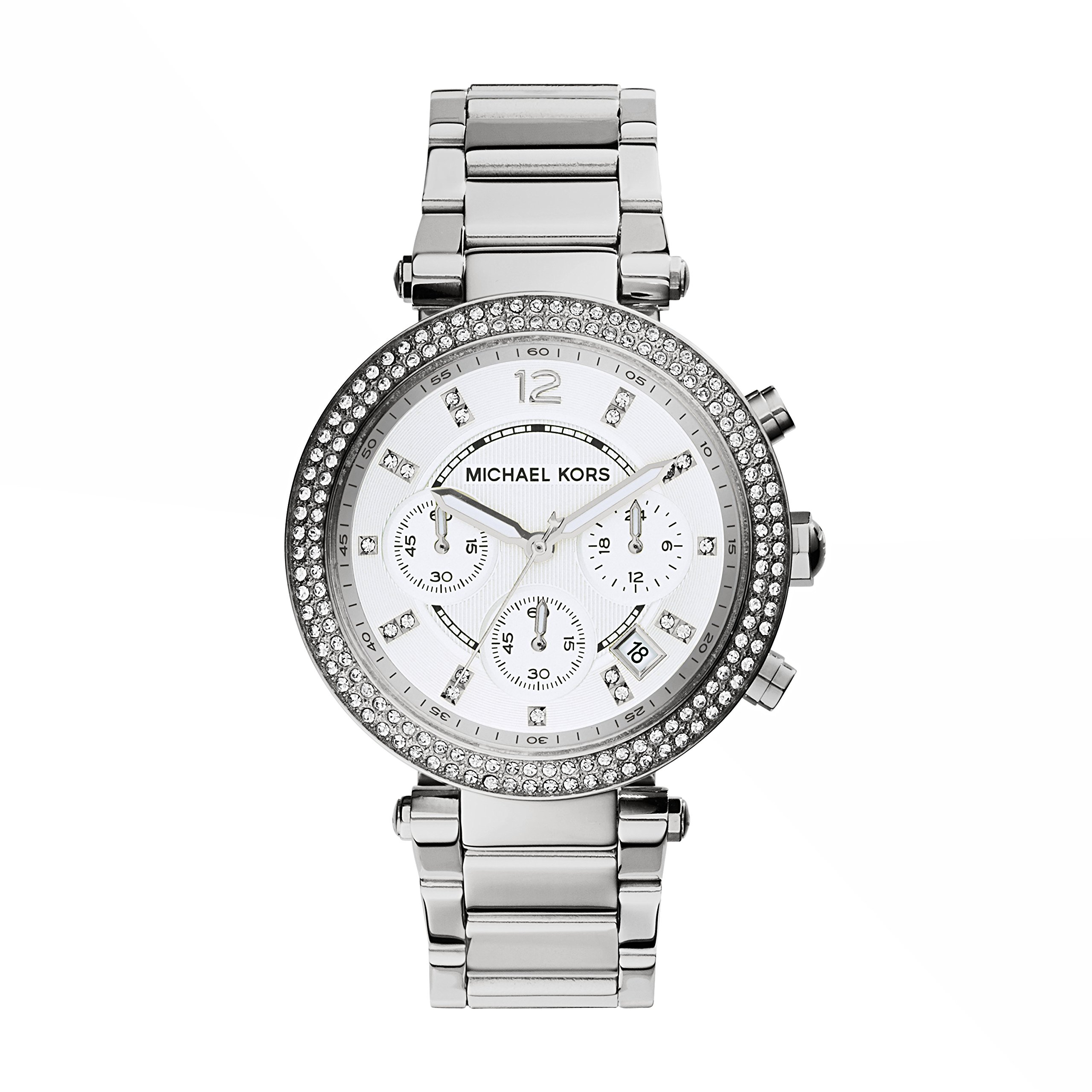 Michael Kors Women's Parker Silver-Tone Watch MK5353 by Michael Kors