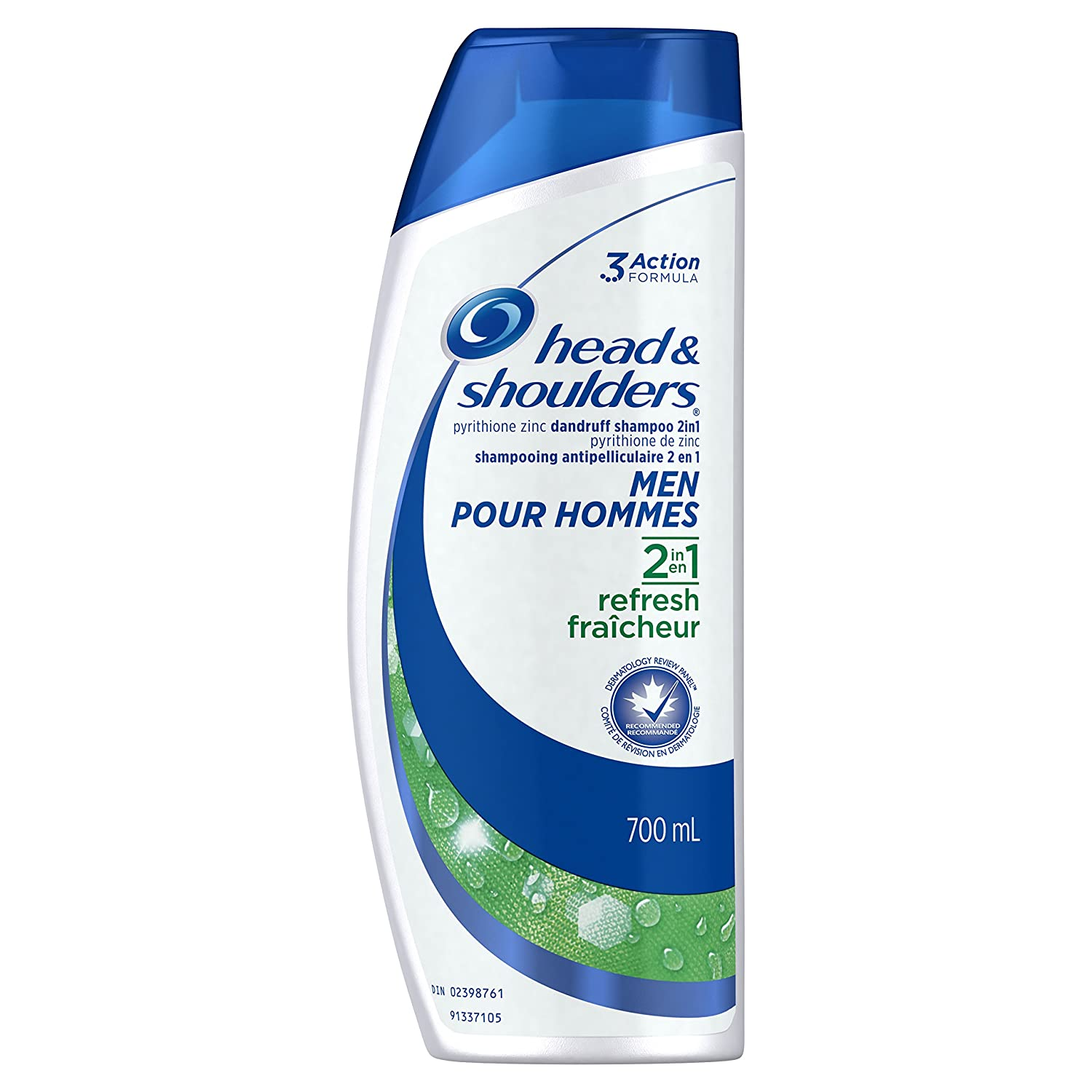 Head & Shoulders Refresh 2-in-1 Anti-Dandruff Shampoo + Conditioner For Men 700ml Procter and Gamble