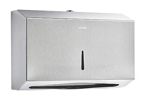 Alpine industries C-Fold/Papel Multifold Dispensador de toallas - Fácil Instalación de acero