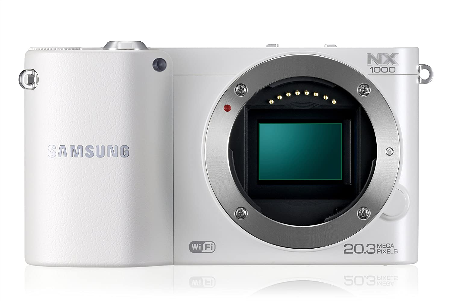 Samsung NX 1000 MILC 20.3MP CMOS 5472 x 3648Pixeles Blanco: Amazon ...