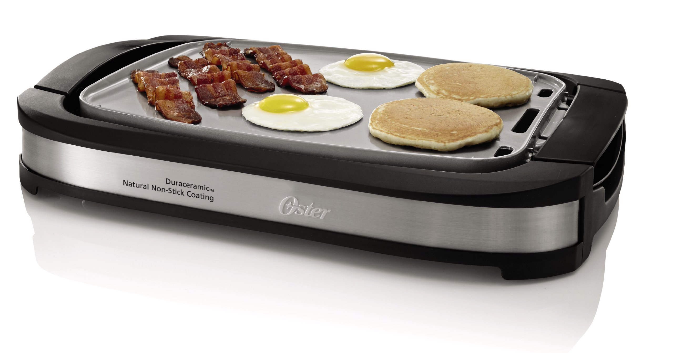 Oster Titanium Infused Duraceramic Griddle With Warming