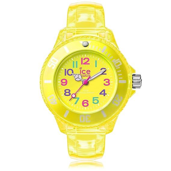 Ice-Watch - ICE happy Neon yellow - Reloj giallo para Niño (Unisex)