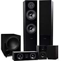 Fluance Elite High Definition Surround Sound Home Theater 5.1 Speaker System Including 3-Way Floorstanding Towers…