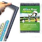 Alien Pros Golf Grip Wrapping Tapes - Innovative Golf Club Grip Solution - Enjoy a Fresh New Grip Feel in Less Than 1…