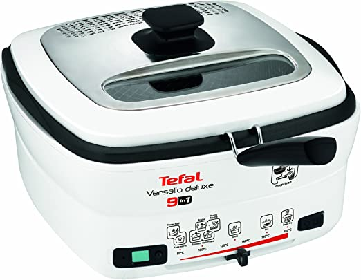 Tefal FR4950 - Freidora, 1600 W, 2 L, 180 °C, blanco: Amazon.es: Hogar