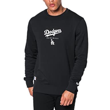 Sweat New Era Mlb Los Angeles Dodgers Team Apparel Noir Taille M