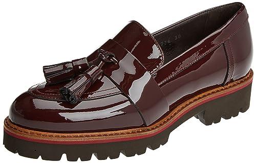 Gadea Charol, Mocasines para Mujer, Rojo (Rioja), 38 EU: Amazon.es: Zapatos y complementos