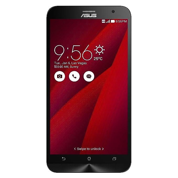 amazon com asus zenfone 2 unlocked cellphone 64gb red u s