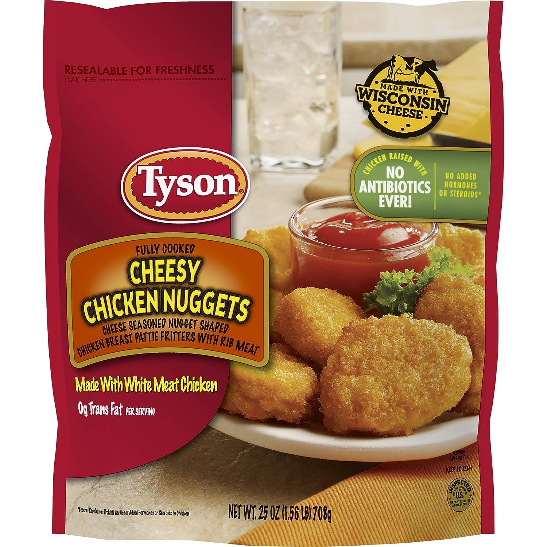 Tyson, Cheesy Chicken Nuggets, 27 oz (frozen)