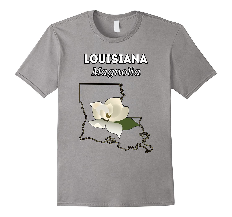 Louisiana Magnolia Flower Gift T Shirt Hnteecom