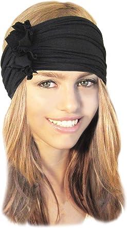 Grey Spot print Head Wrap Adult size headwrap Handmade