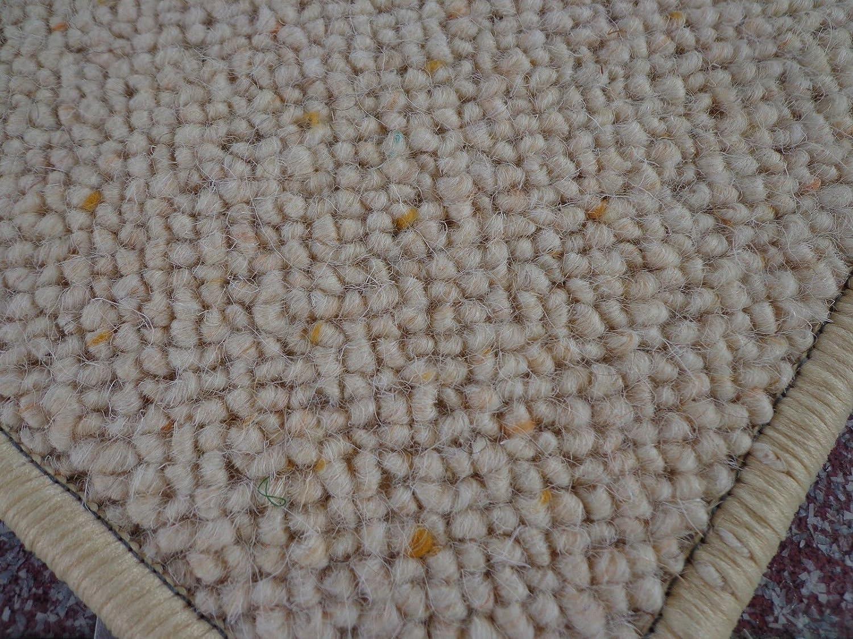 Berber Kettel Teppich Natur 100% Schurwolle 250 x 200 cm (2,5 x 2 Meter)