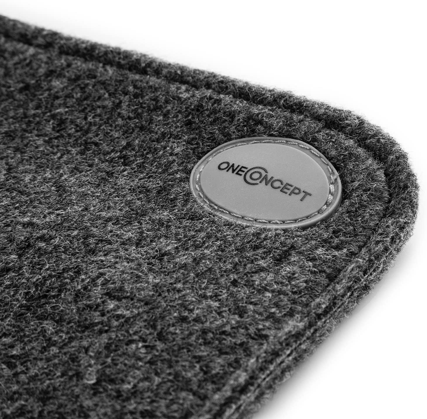 Tapis Chauffant Tapis Chauffe-Pieds Gris natte chauffante Housse Lavable 75 Watts Faible consommation /électrique Surface r/ésistante en Polyester OneConcept Magic Carpet 60 x 40 cm