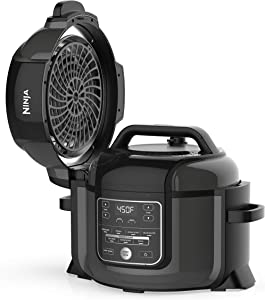 Ninja Foodi 8-in-1 Pressure, Broil, Dehydrate, Slow Cooker, Air Fryer,