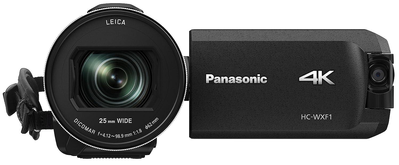 Jual Murah Panasonic Hc Wxf995 4k Ultra Hd Camcorder Terbaru 2018 Smescotrade File Mgr Black Wanita Wxf1 Cinema Like 24x Leica Dicomar Lens 1 25