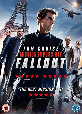Amazon com: Mission: Impossible - Fallout (DVD) [2018]: Movies & TV