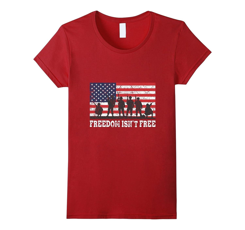 Freedom Isn't Free Memorial Day T-shirt-Bawle