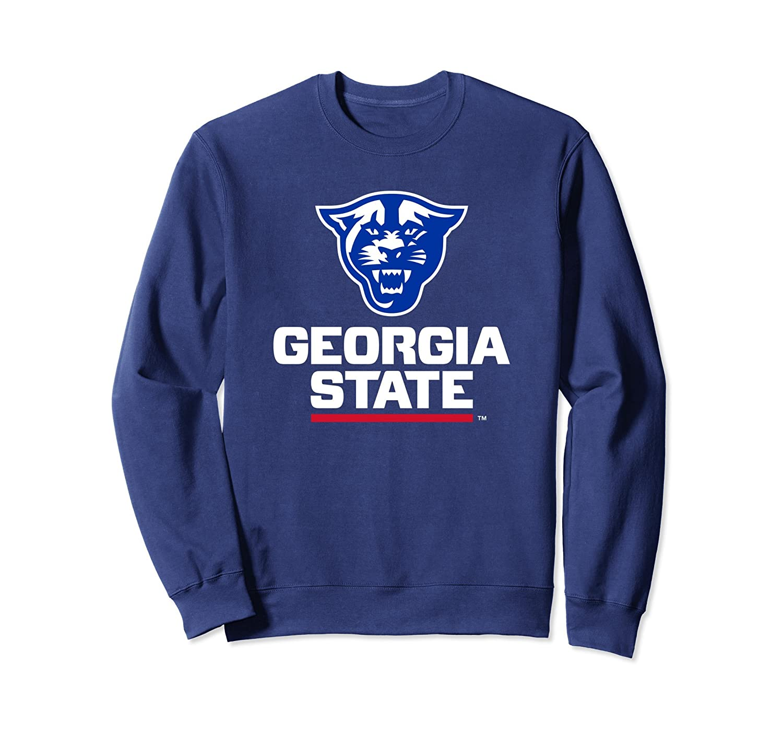School Spirit Sweatshirt Georgia State University Mens Pullover Hoodie Heather