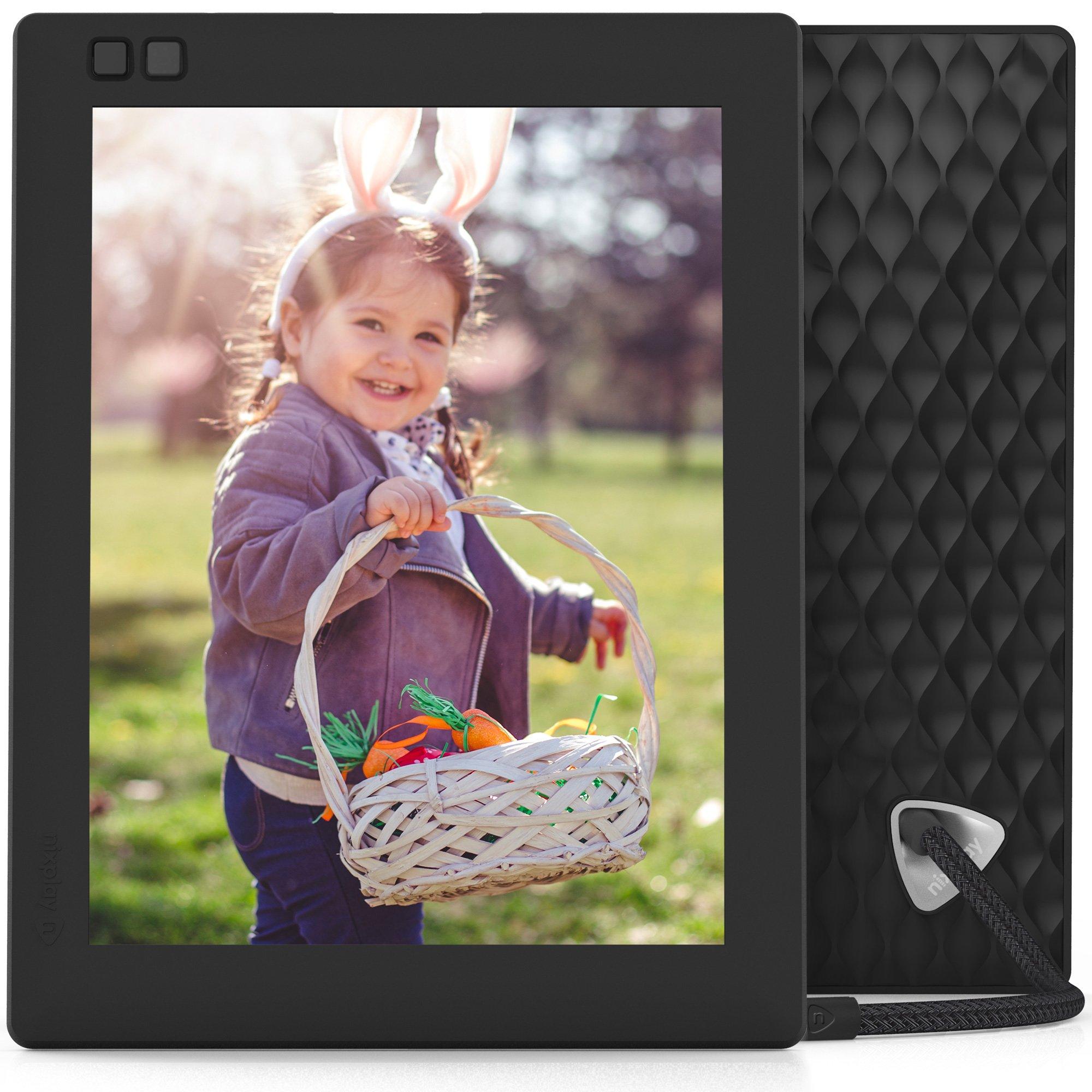 Nixplay Seed 8 inch WiFi Digital Photo Frame - Black by nixplay