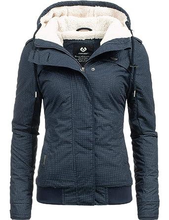 ae8c6cad9d6e1e Ragwear Damen Jacke Winterjacke Ewok (vegan hergestellt) 7 Farben XS ...