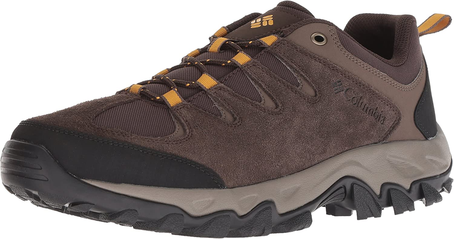 Columbia Men s Buxton Peak Hiking Shoe, Breathable, High-Traction Grip