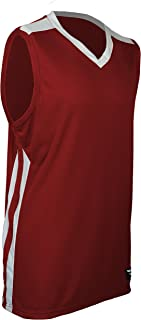 product image for PT-248-CB Men's Collegiate Style Basketball Pro Jersey-Enjoy Cool and Dry Comfort with Sweat and Odor Reducing Technology (Medium, Red/White/White)
