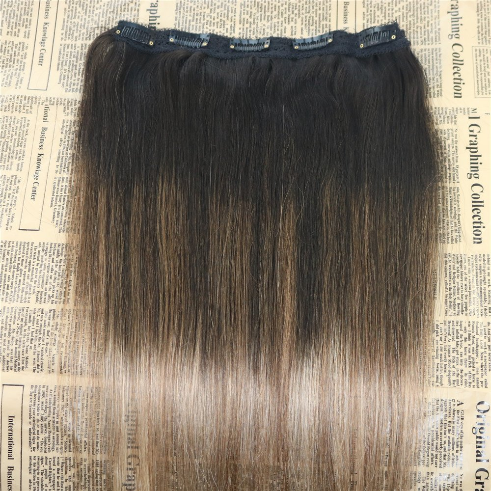 Amazon 24 Inch One Piece Clip Hair Extensions Omber 2 Fading