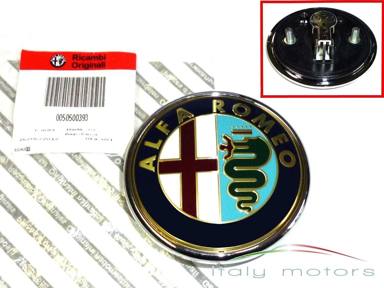 Original alfa romeo 159 arri/ère-logo 50500393 embl/ème coffre