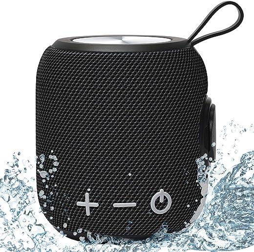 Portable Bluetooth Speaker Dual Pairing Loud Wireless Mini Speaker, 360 Surround Sound & Rich Stereo Bass
