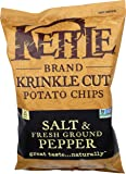 Kettle Foods, Chips Krinkle Cut Salt And Pepper, 13 Ounce