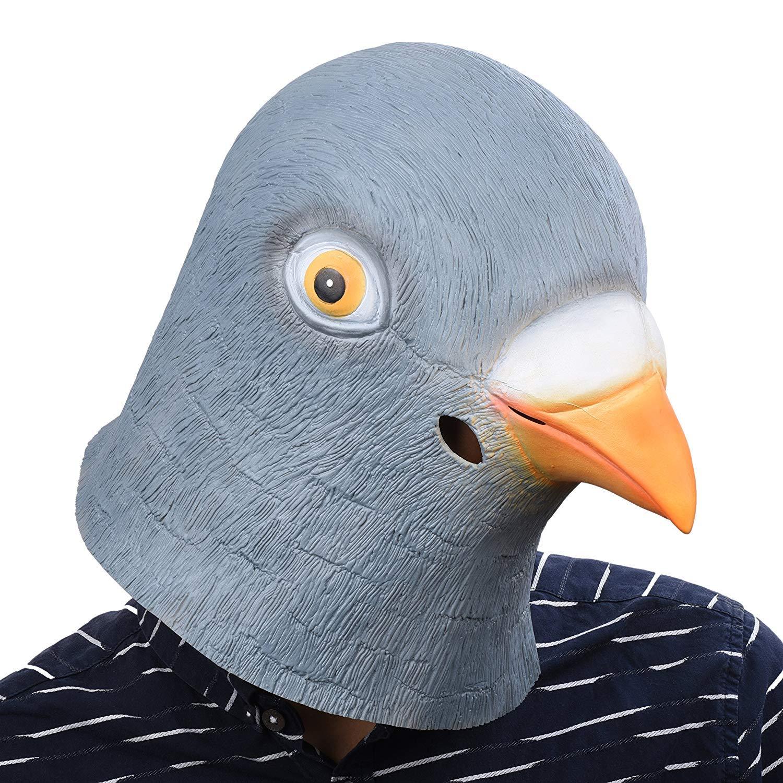 Masque Latex T/ête de Cheval de Haute Qualit/é Fausse Crini/ère Original Cup Bouch/é Trou/ée pour Voir Facilement