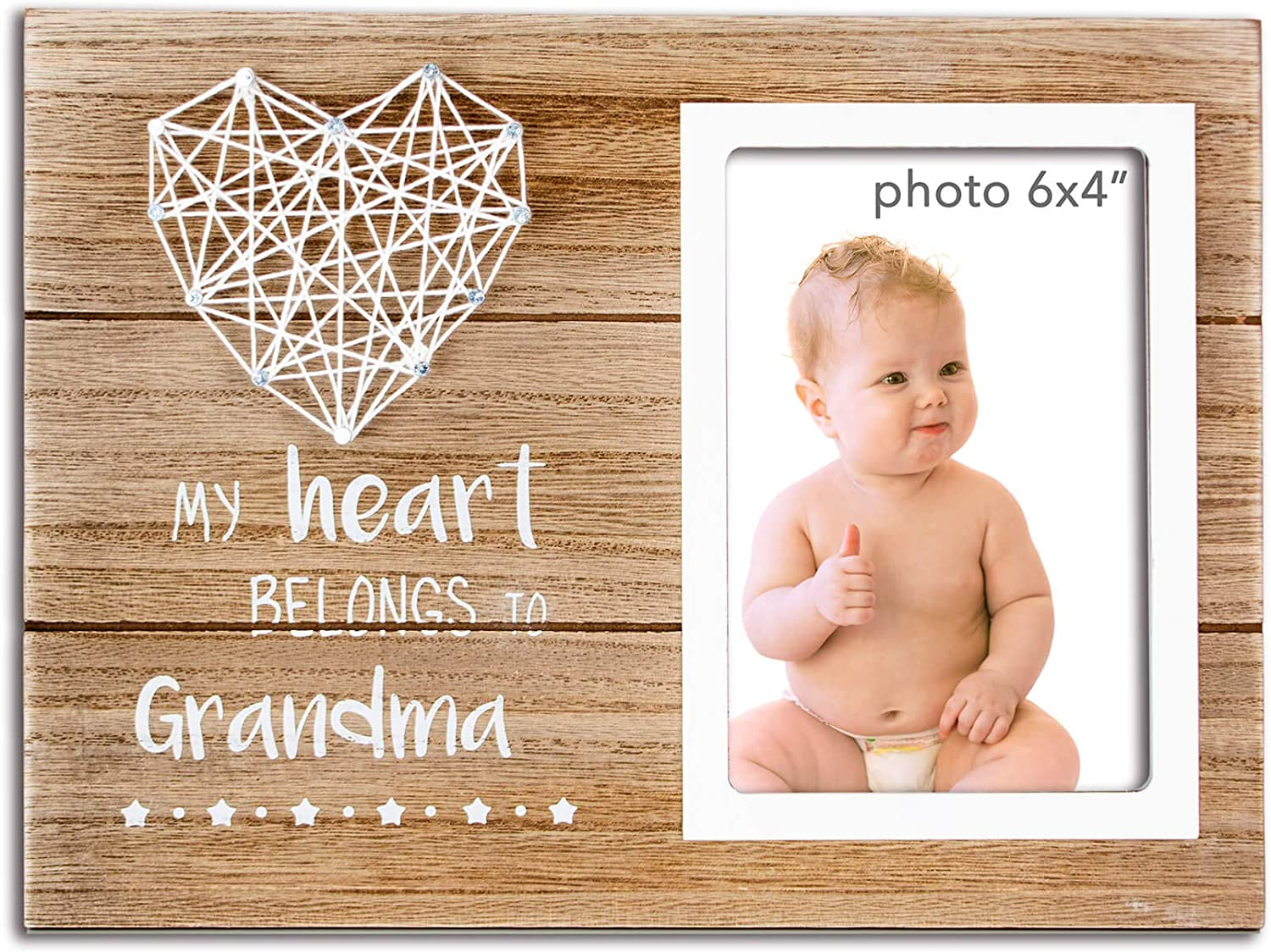 Vilight Promoted To Grandma Gifts Nana Picture Frame Grandmother Grammy Present From Granddaughter And Grandson 4x6 Inches Photo Amazon Com