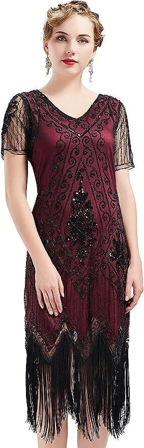 BABEYOND 1920s Costume Dress