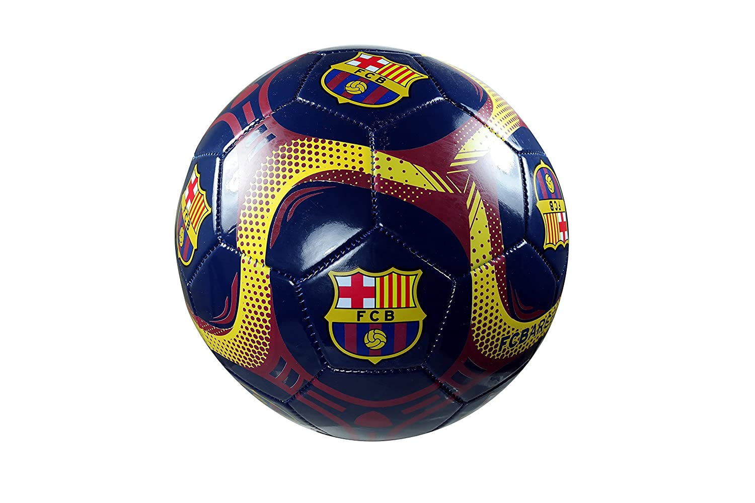 FC Barcelona Authentic Official Licensedサッカーボールサイズ5 – 06 – 7 B076V7HX3D