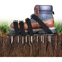 TACKLIFE Zapatos Jardín de Césped, Zapatos para Airear