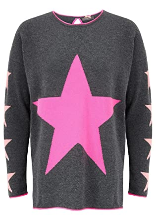 c5f9622338 Cocoa Cashmere Star Cashmere Sweater - Candy