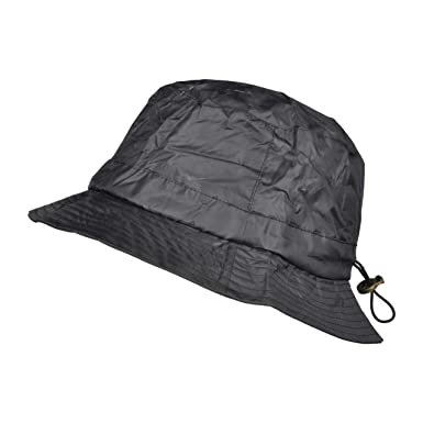 TOUTACOO Bucket Rain Hat with Fleece Interior